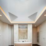 The master bath has Gaudi slab marble floors