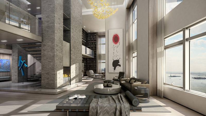 Sky high living inside the penthouses of 10 of manhattan for Nyc luxury condos for sale