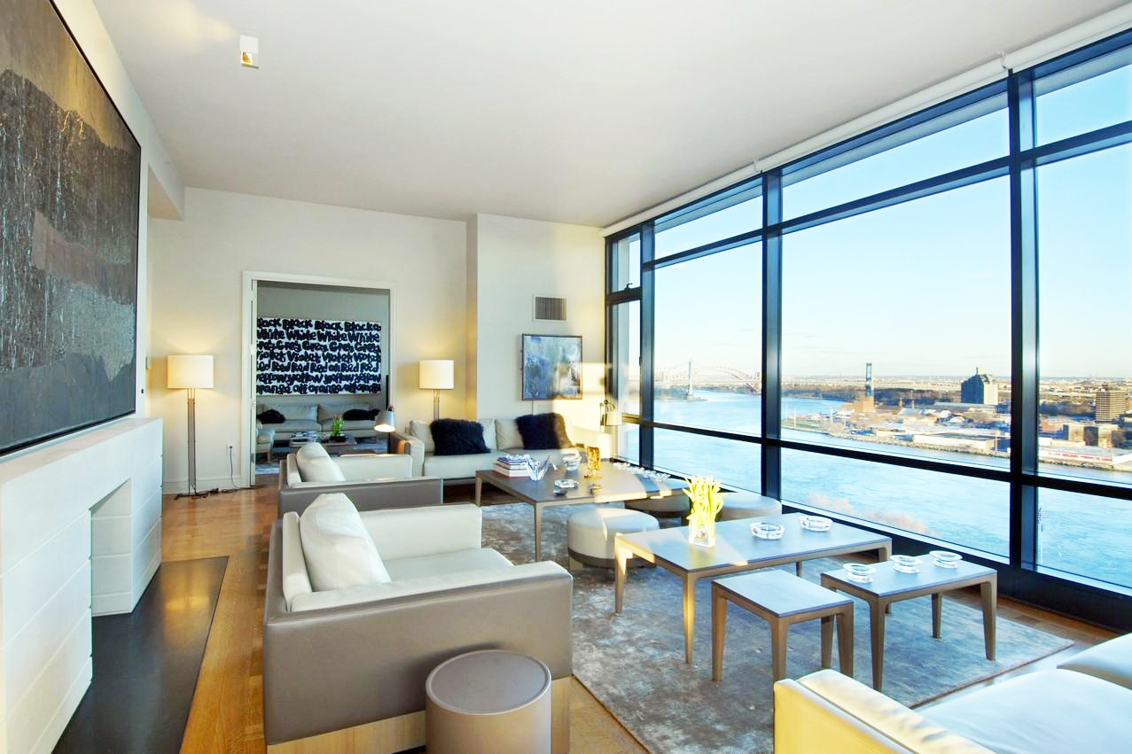 Ues Penthouse With East River Views In Every Room Sells