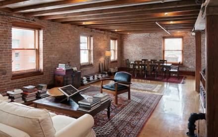 265 Water Street, 8 living room with hardwoods