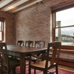 265 Water Street, 8 a view of the Brooklyn Bridge from the kitchen table