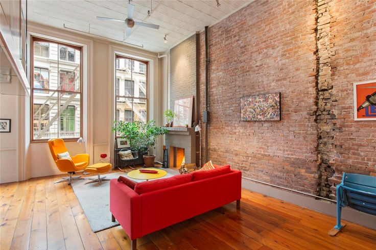 456 broome street loft survived plans for expressway in for Pied a terre manhattan