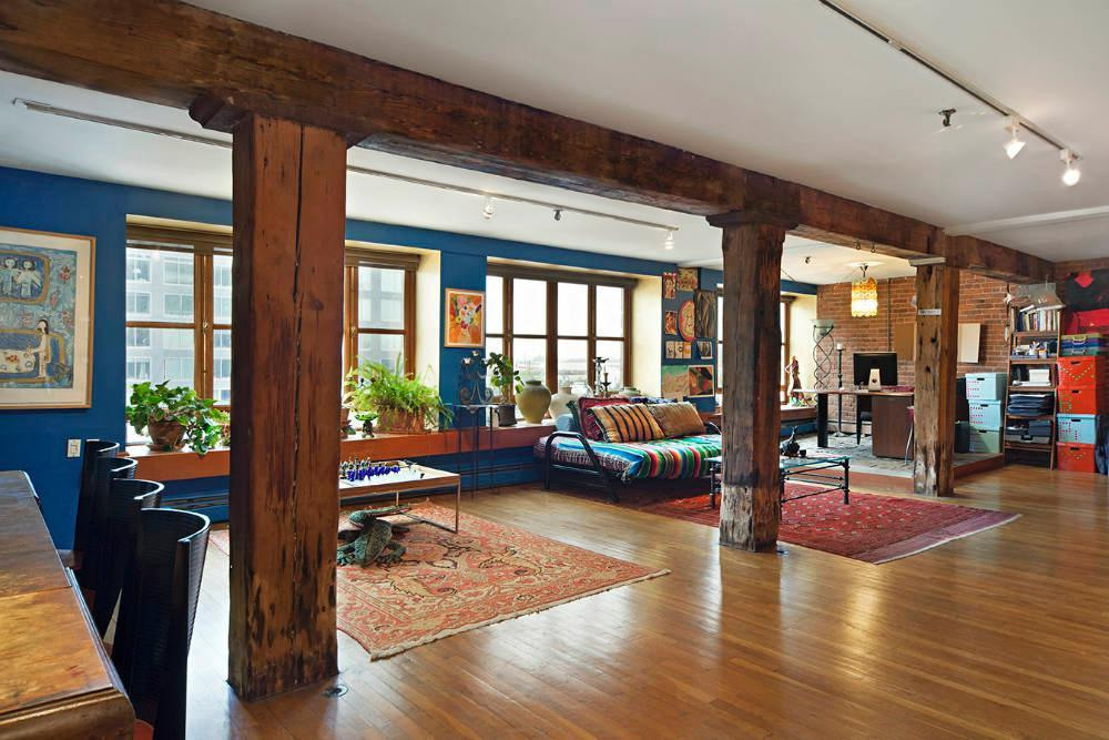 A unique 3 2 million tribeca loft to bring out your inner - Loft industriel tribeca franz architecte ...