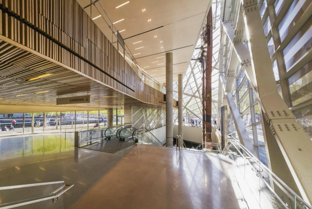 911 Memorial Pavilion Lobby