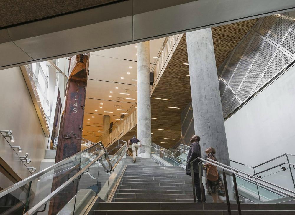 911 Memorial Pavilion Stair