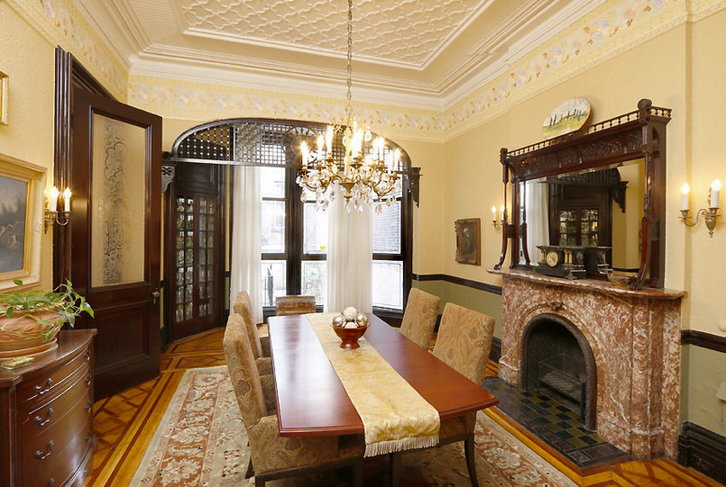 Beautiful brooklyn heights brownstone closes for 7 million 6sqft Brooklyn brownstone interior