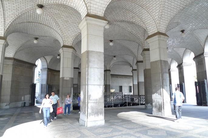 Guastavino tiles at the Municipal Building NYC