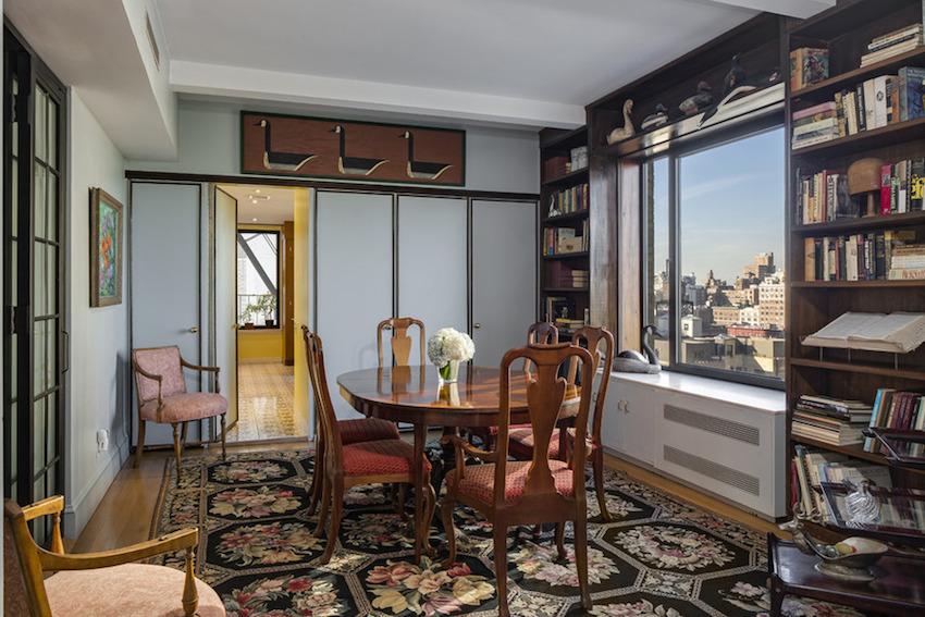 Hank Azaria's new dining room