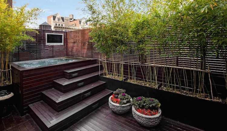 Kelly Ripa Soho Penthouse hot tub