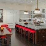 Kelly Ripa Soho Penthouse eat-in kitchen