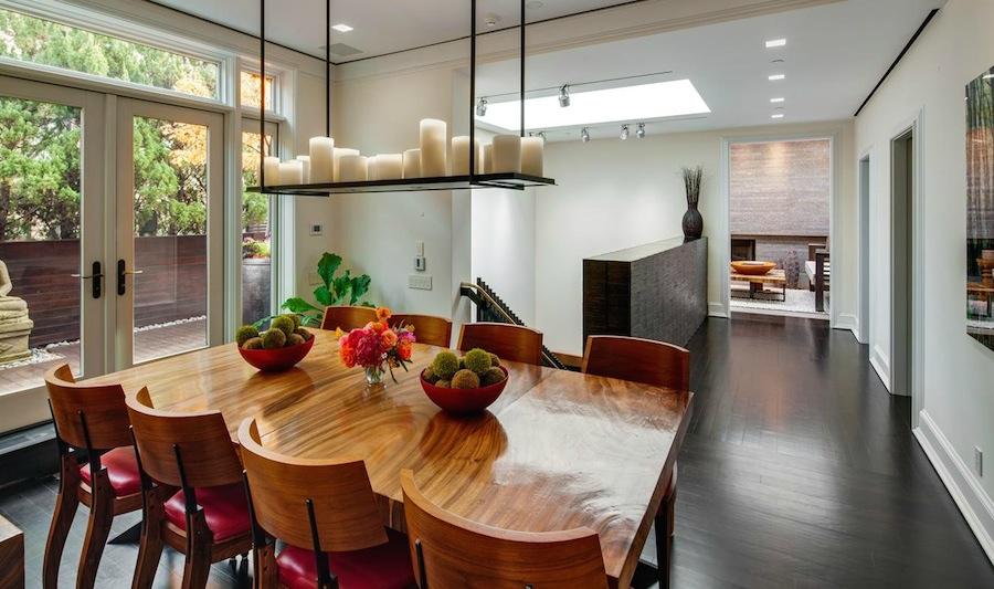 Kelly Ripa Soho Penthouse dining room