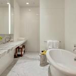 Kelly Ripa Soho Penthouse bathroom
