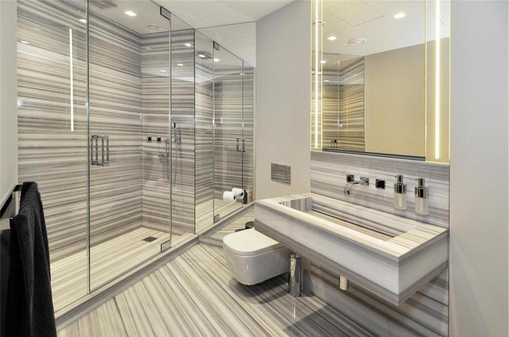 A second bathroom inside the apartment