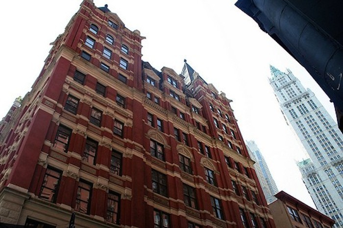 5 Beekman Street, hotel, New York City real estate, Temple Court, Financial District, New York hotels, New York condos, new developments, historic landmarks, Temple Court Exterior