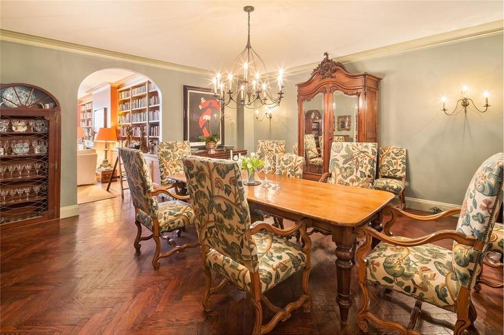 Oversized dining room makes entertaining easy