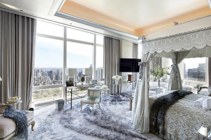 Time Warner Center Penthouse Bedroom