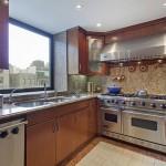 Valerie Mnuchin New Penthouse kitchen