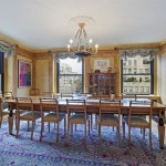 The dining room has views of Park Avenue.