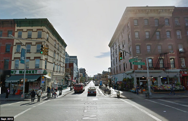 Bedford Ave and North 7th St After