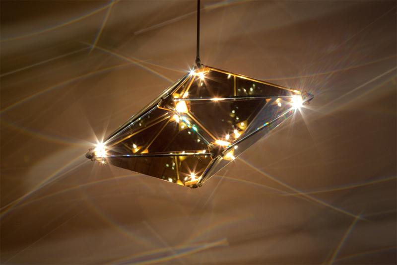 Bec Britain 39 S Beautiful Maxhedron Pendant Lamp Creates