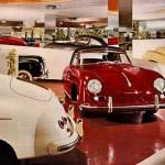 A photo of the Frank Lloyd Wright auto showroom.