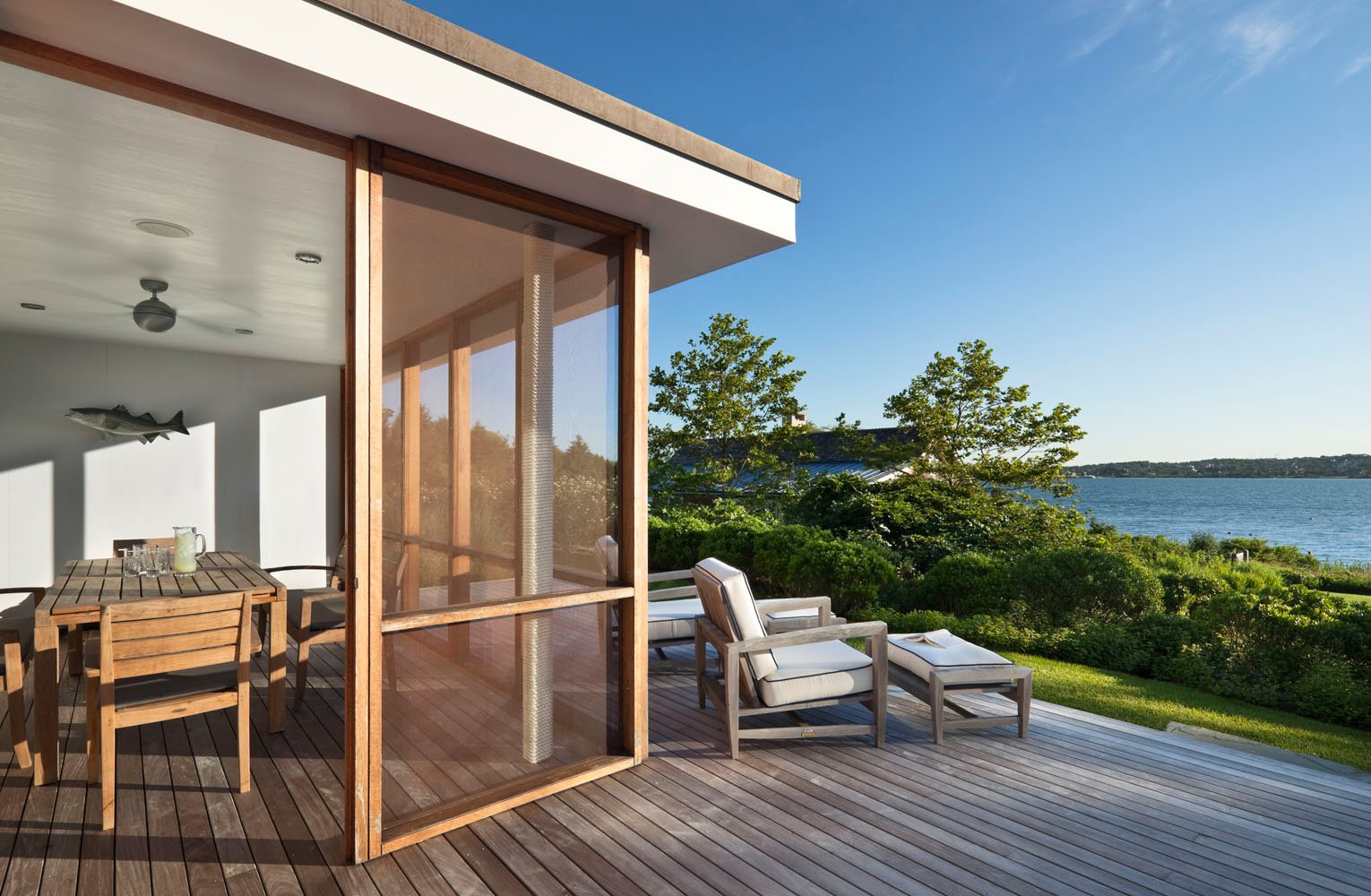 Peaceful Montauk Lake House is not Your Average Vacation Home : 6sqft