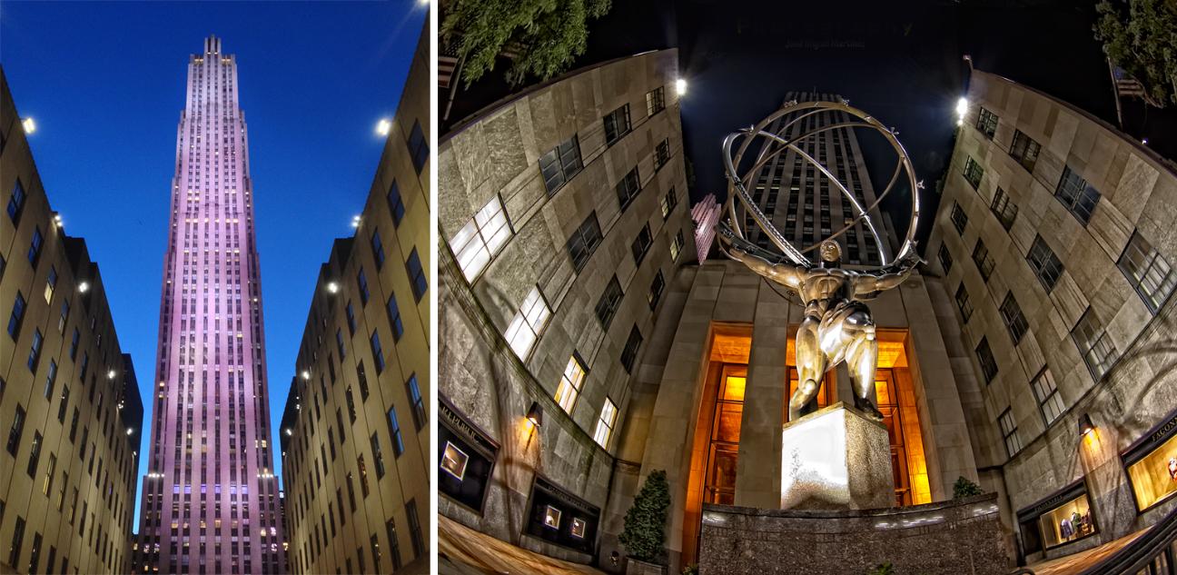 Rockefeller center and plaza