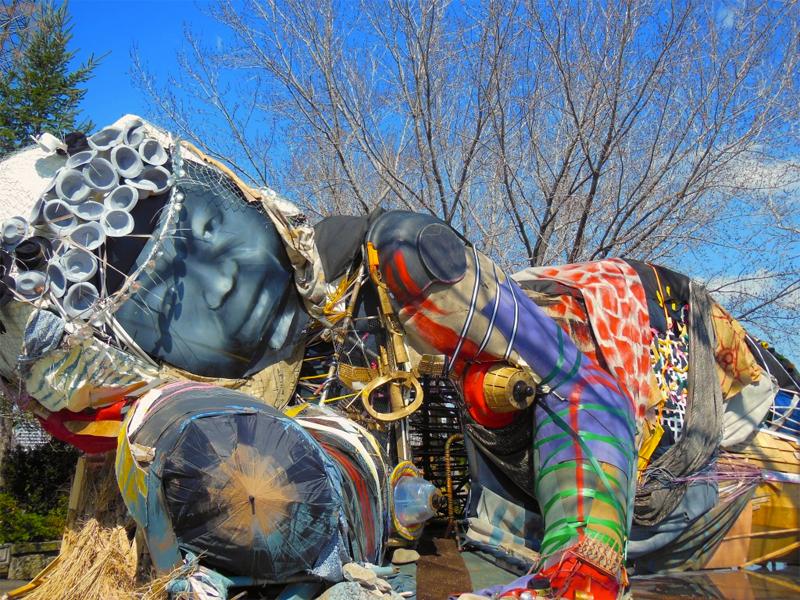socrates sculpture garden buddha