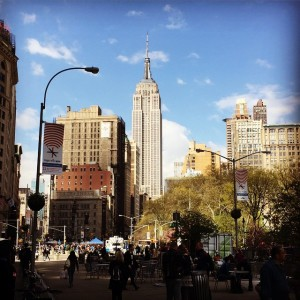 A dreamy day #empirestatebuilding #architecture #icons #nyc #landmarks #nomad