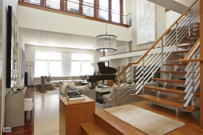 7 5 million award winning renovated loft with two story Two story house plans with loft