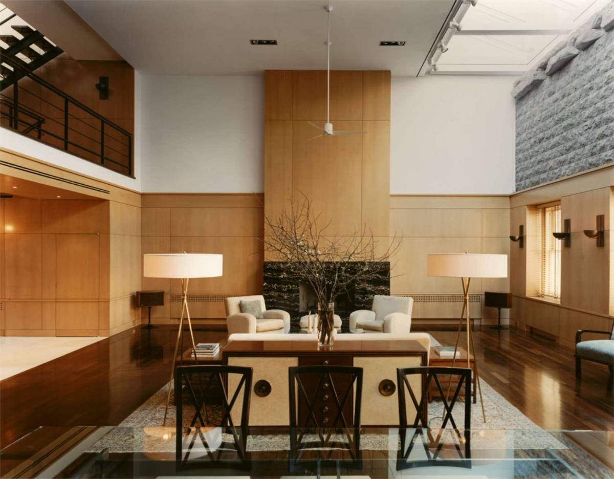 142 Duane Street PH living room