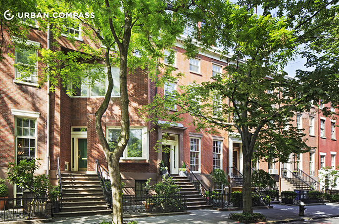 Infamous greenwich townhouse with explosive past for for Greenwich townhomes for sale