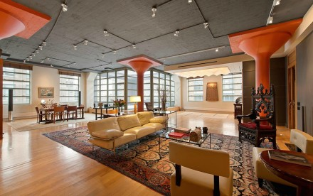 195 Hudson St interior