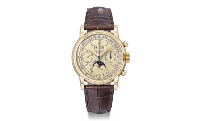 A rare Patek Philippe 18K pink gold watch, expensive watches, world class watches, most expensive watch