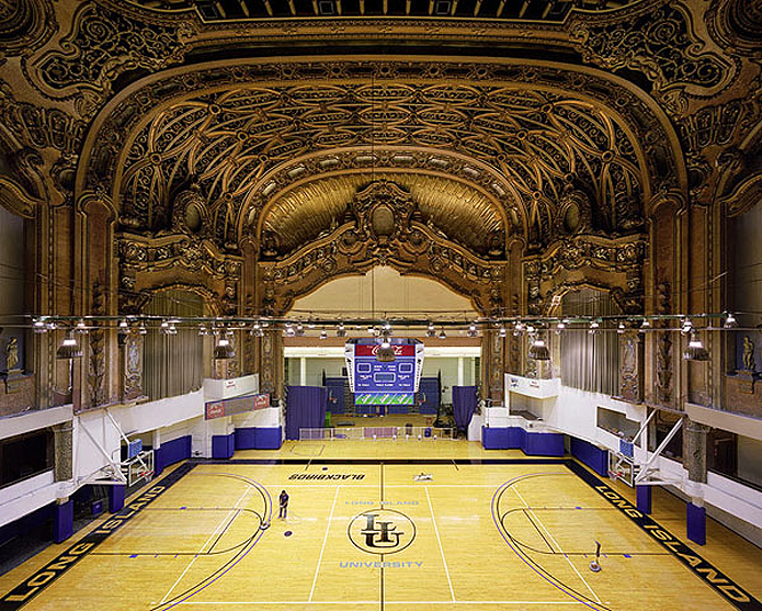 From Gilded Movie House To University Gym Uncovering The