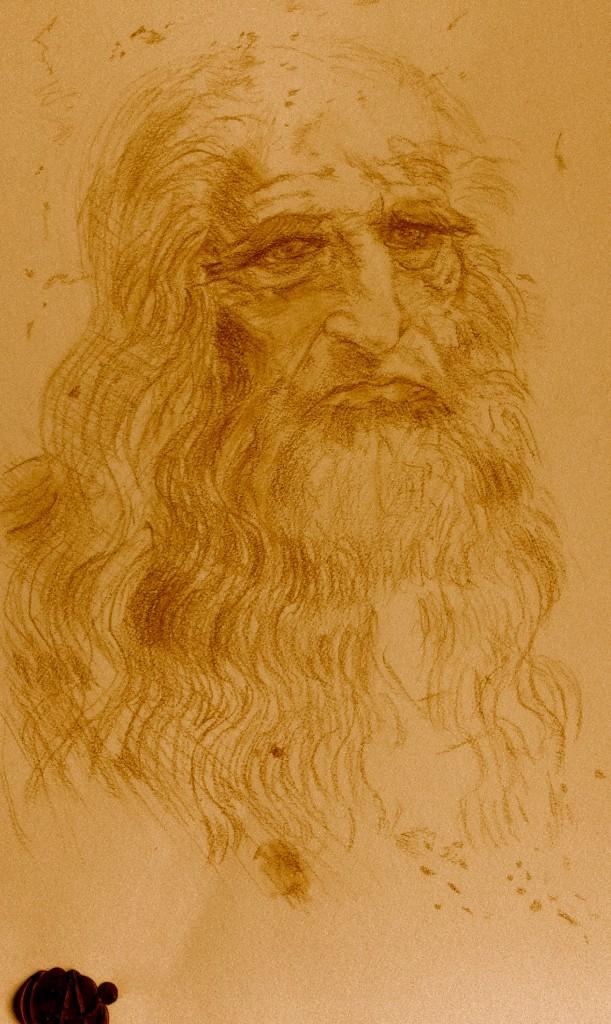 David aaron carpenter's Sketch of Leonardo Da Vinci, David aaron carpenter, Sketch of Leonardo Da Vinci