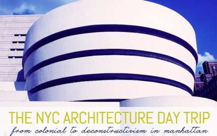 architecture day trip nyc
