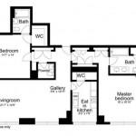 Deepak Chopra, 230 West 56th Street, Park Imperial, Deepak Chopra apartment, floor plan