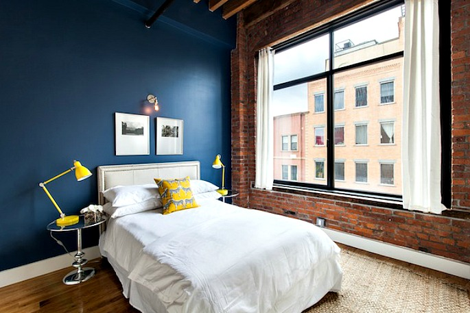 139 North 10th Street, Printhouse Lofts, Bedroom