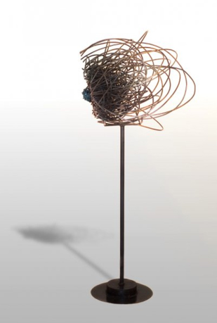Welded sculpture. Photo by Daniel Kongos