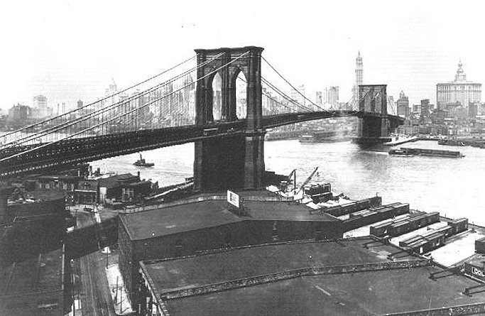 dumbo 1925 waterfront, historic dumbo, historic dumbo waterfront, dumbo 1900s
