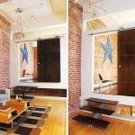 Floating Loft in Brooklyn designed by Barker Freeman