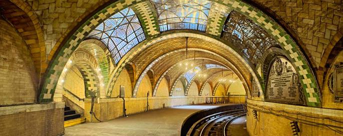gustavino city hall nyc subway station