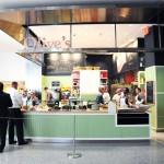 Olive's kiosk at Hudson Eats inside Brookfield Place