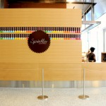 Sprinkles Cupcake kiosk at Hudson Eats inside Brookfield Place