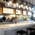 Chop't kiosk at Hudson Eats inside Brookfield Place