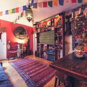 Take a tour of artist Hector Casteneda's Spanish Harlem apartment…