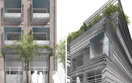 119 Orchard Street facade renderings