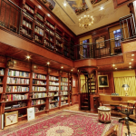 12 East 69th Street, Vincent and Teresa Viola, NYC mansions, Upper East Side mansions, biggest NYC houses, most expensive NYC real estate listings, residential library