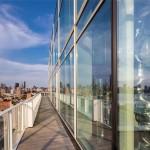 165 Charles Street PH interior, Richard Meier designed, Louise Blouin home